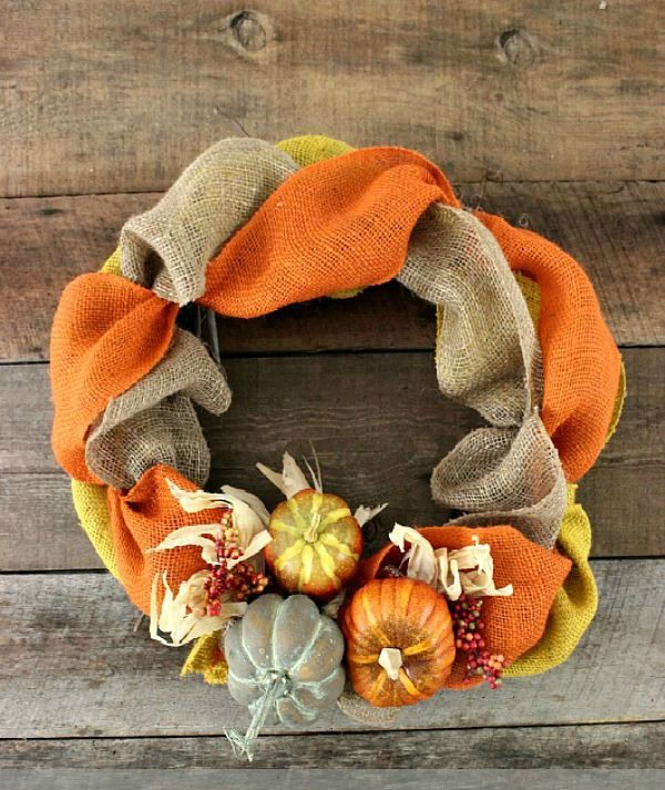 7 Fabulous Fall Wreaths You Can Make in a Half Hour