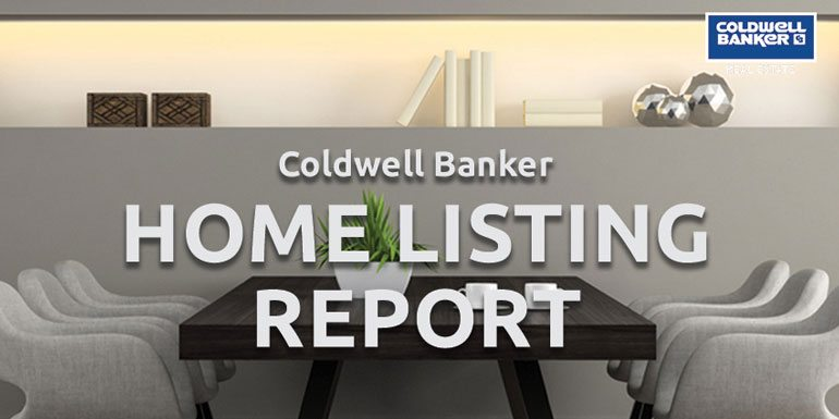 Coldwell Banker Releases the Nation's Most Extensive Home Listing Report