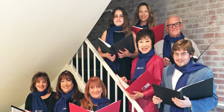 Coldwell Banker Residential Brokerage Carolers Ring in the Holiday Season