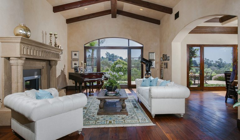 Home Of The Week Rancho Santa Fe Hillside Estate Coldwell Banker