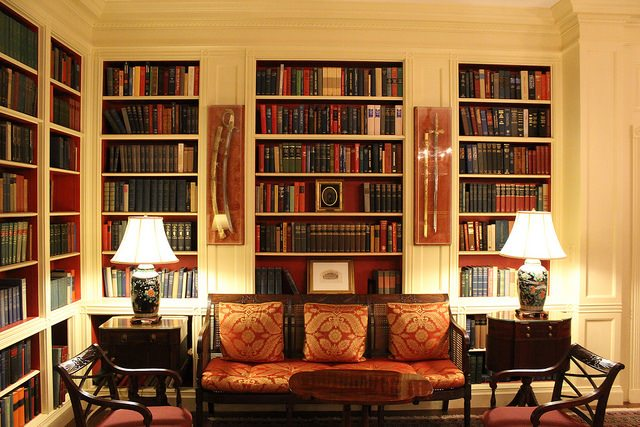 White House Library; Image courtesy of Flickr user Ryan Somma