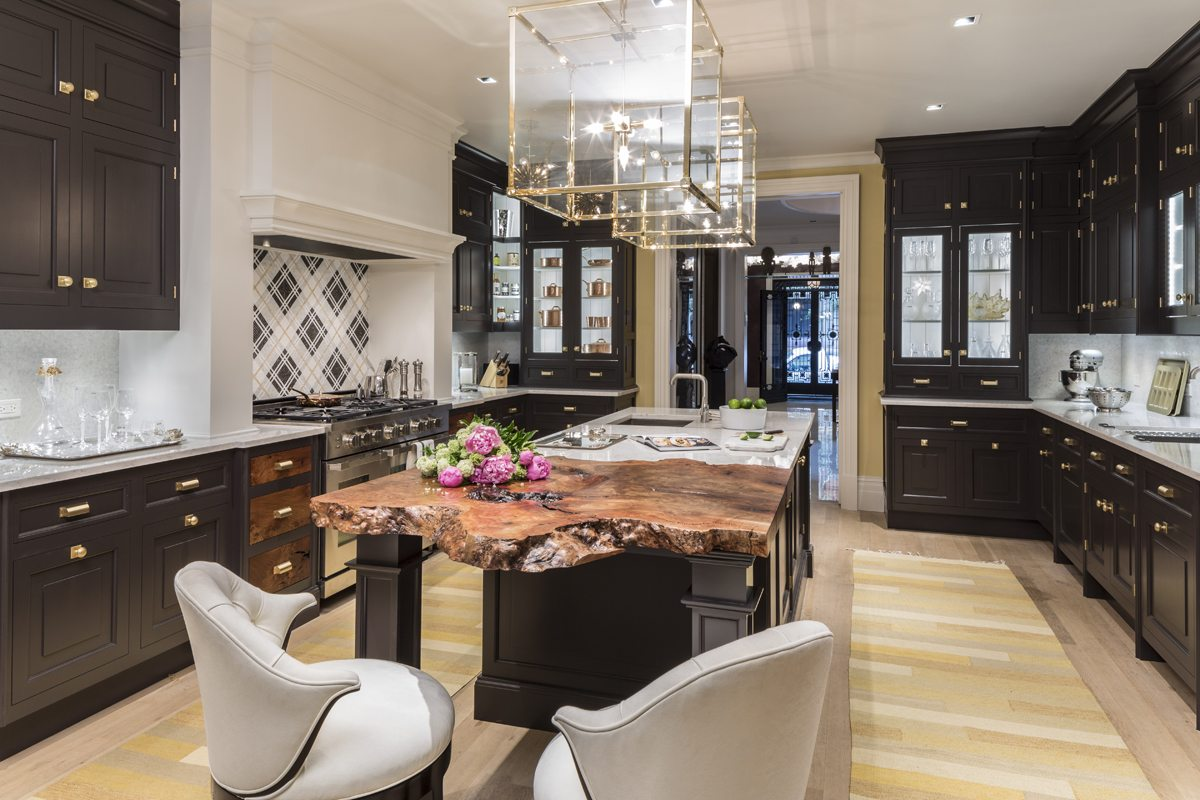Trends in the luxury kitchen conversation with for Christopher peacock kitchen cabinets