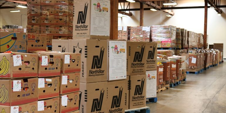 """""""Let's Send Hunger Packing"""" Food Drive Collects Nearly 6,000 Meals for Hungry Kids"""