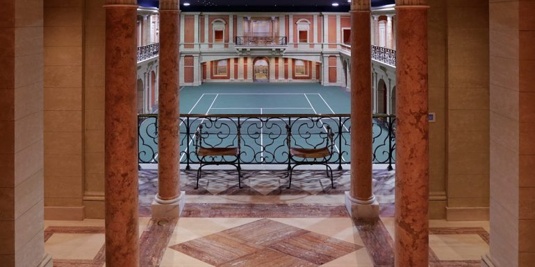 Courts for a King: Tennis Court Properties for the U.S. Open