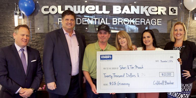 Coldwell Banker Announces $20K Giveaway Winner