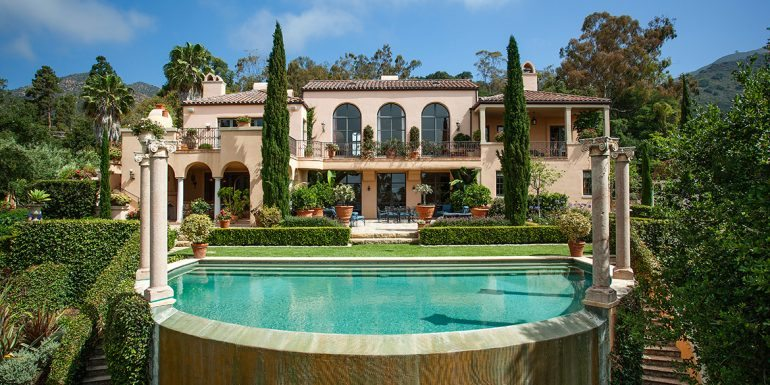 Home of the Week: Italian Inspired Living in Montecito