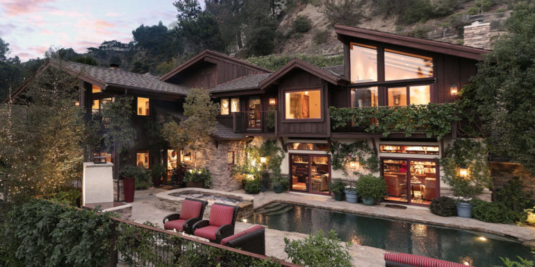 Home of the Week: Aspen Charm above Beverly Hills