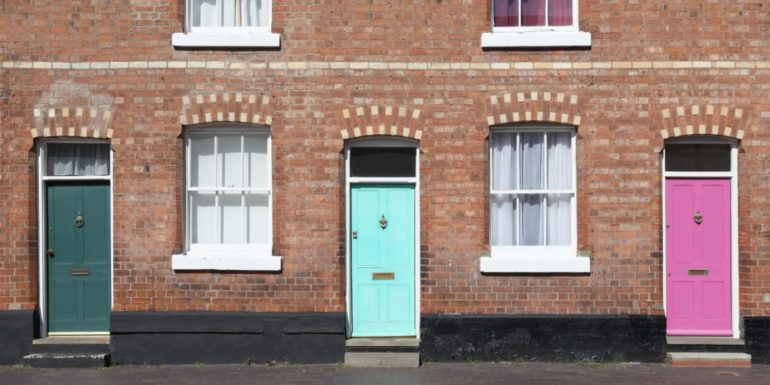 Unexpected Colors to Freshen up Your Front Door
