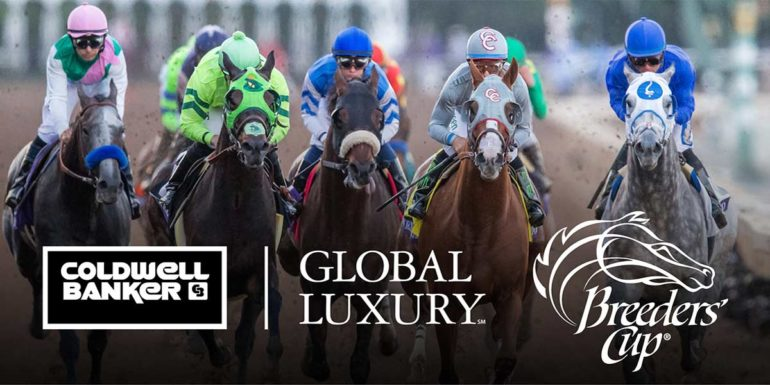 Coldwell Banker Residential Brokerage Partners with the Breeders' Cup