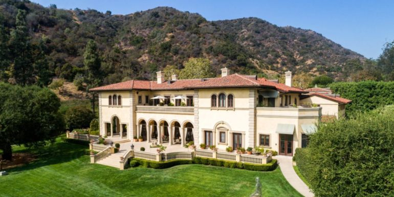 Home of the Week: Magnificent Italian Villa in Bel-Air