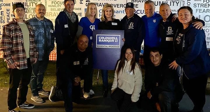 Coldwell Banker Participates in a Sleep Out to Support Homeless Youth